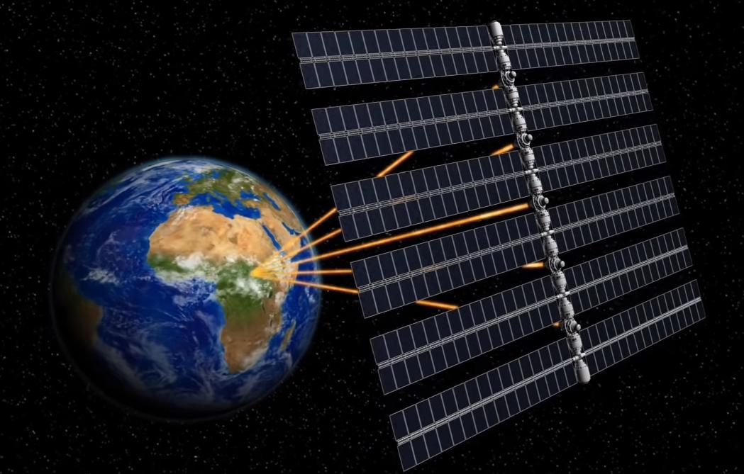 Ηλιακή ενέργεια από το διάστημα