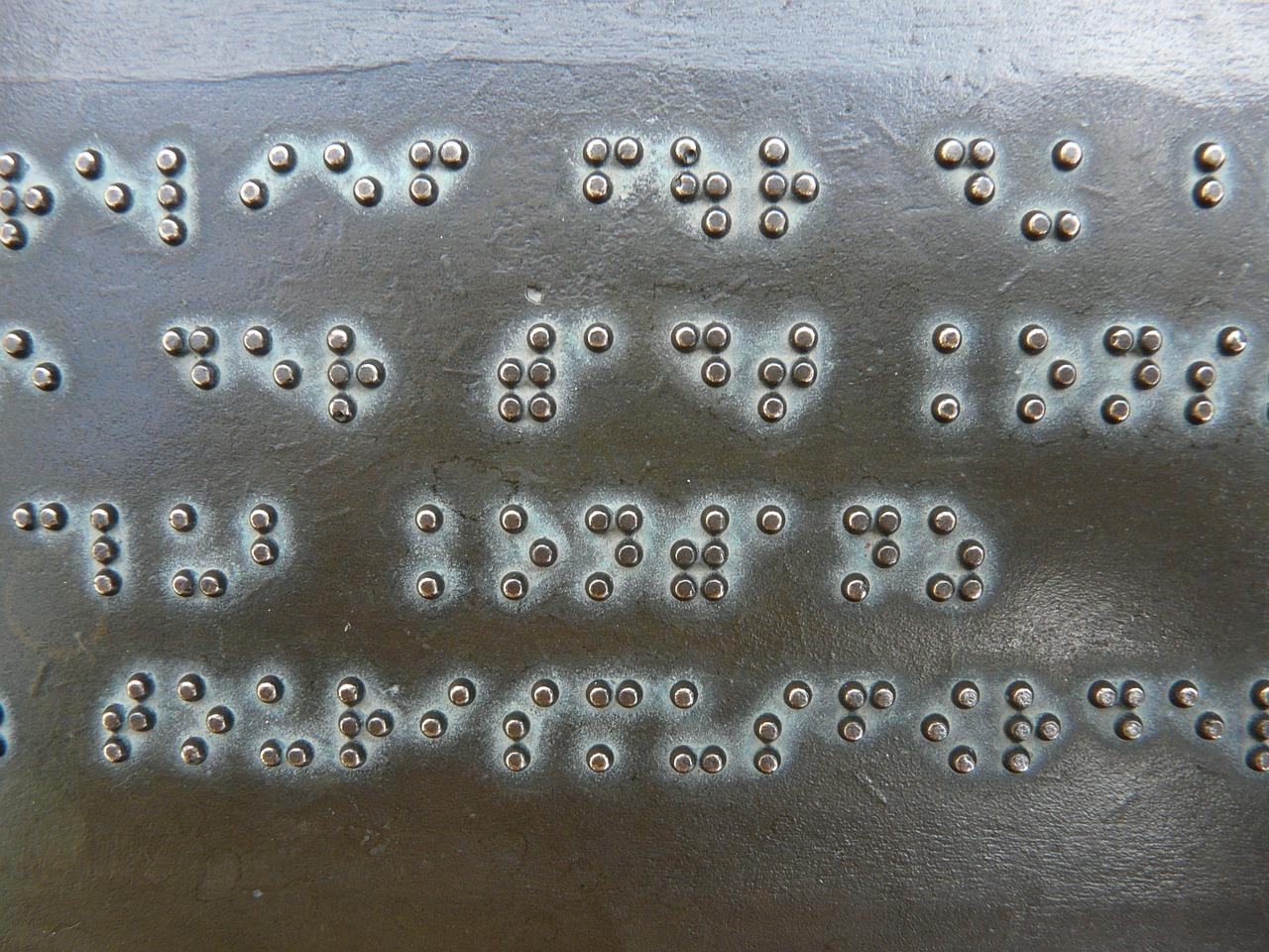 Κώδικας Braille και καθημερινότητα